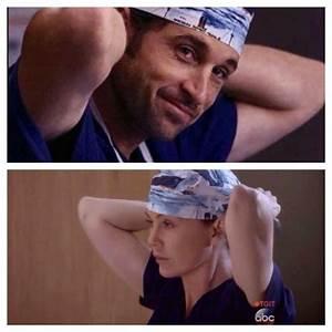 I cry every time I watch Meredith put on Derek's scrub cap ...