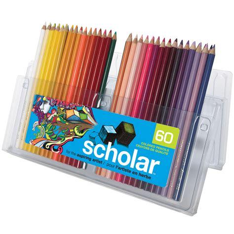 prismacolor scholar colored pencils 60 prismacolor scholar color pencil assorted gift set of 60