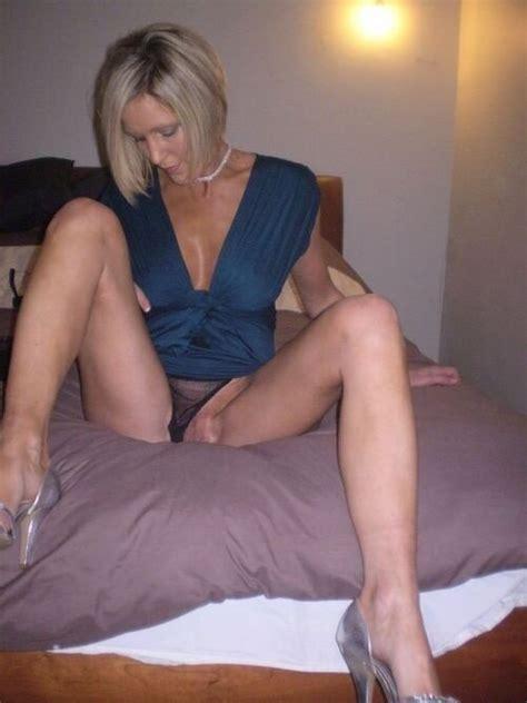 Blonde Milf Upskirt Panties Pussy Flashing Hot Dailyfap