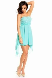 Kleider In Türkis : vokuhila kleid blau ~ Watch28wear.com Haus und Dekorationen
