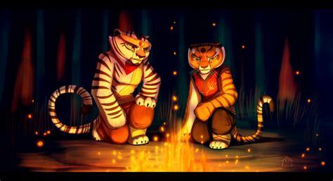Resultado De Imagen Para Imagenes De Tigresa Y Po Kung Fu