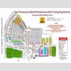 Petaluma, California Campground  San Francisco North