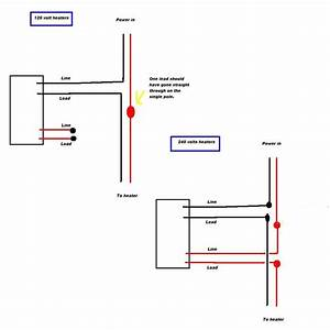 220v Baseboard Wiring Diagram For Honeywell Thermostat