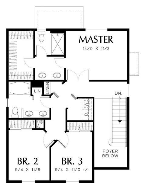 cool simple  bedroom house plans  home plans design