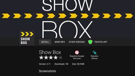showbox apk how to install your device
