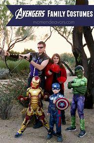 Avengers Family Halloween Costumes