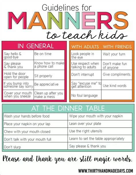 table manners for kids 18 fun activities that teach good manners how does she