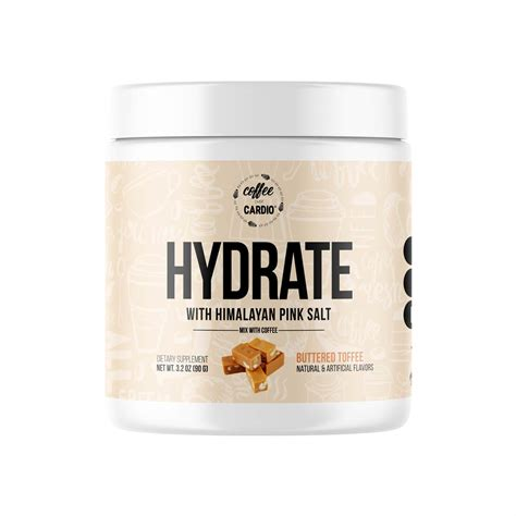 # do you hydrate or dehydrate your body when having a coffee? HYDRATE with Himalayan Sea Salt is the newest addition to ...