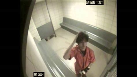 Dzhokhar Tsarnaev cell surveillance (full video) - YouTube