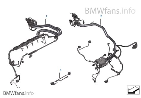 engine wiring harness bmw x6 e71 x6 35ix n54 europe
