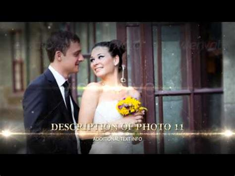 after effects project files wedding videohive youtube