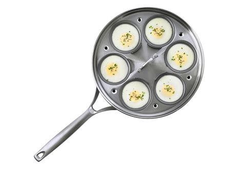 calphalon unison  nonstick egg poacher  cup cutlery