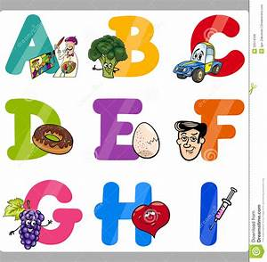 alphabets for kids with pictures free download www With kids abc letters