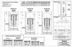 Siemens Sw3040l1125 Es Series 125 Amp 30