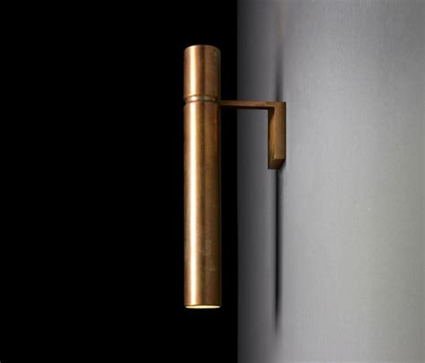 brass tubular wall light tubular light wall lights from henge architonic