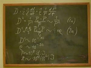 Einstein's ... Blackboard