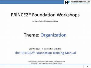 PRINCE2 Foundation Workshops