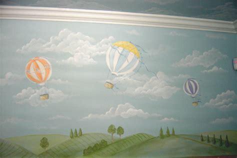 Hot air Balloon Murals,Mural, Children's wall murals