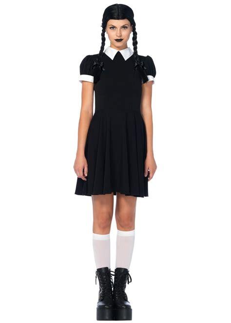 Wednesday Addams Womens Costume - Cosplay Costumes
