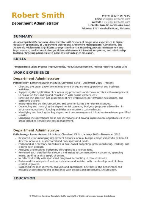 higher education resume samples  resume examples