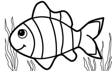 informasi belajar anak interaktif gambar kolase ikan nemo