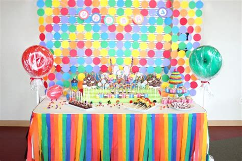 candy candyland candy land birthday party ideas