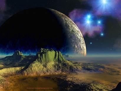 Desktop Alien Background Backgrounds Save Setting Planets