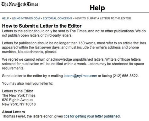 write  letter   newspaper editor letters