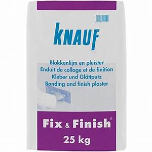 Enduit De Lissage Placo : knauf gipsmortel fix finish 25kg praxis ~ Dailycaller-alerts.com Idées de Décoration