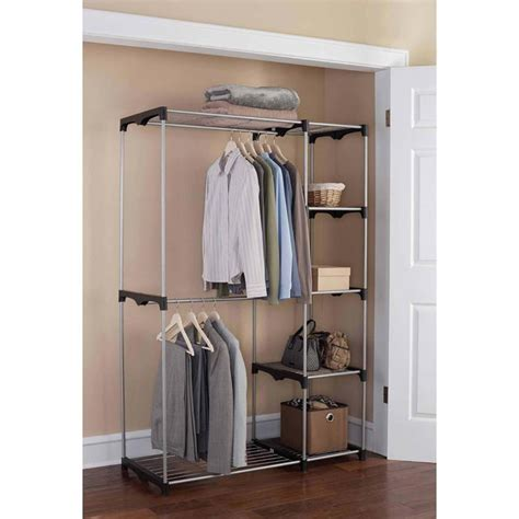 stand alone closet organizer stand alone closet walmart ideas advices for