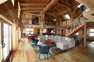Interior design pole barn interior designs decorating for Interior decorated house pictures