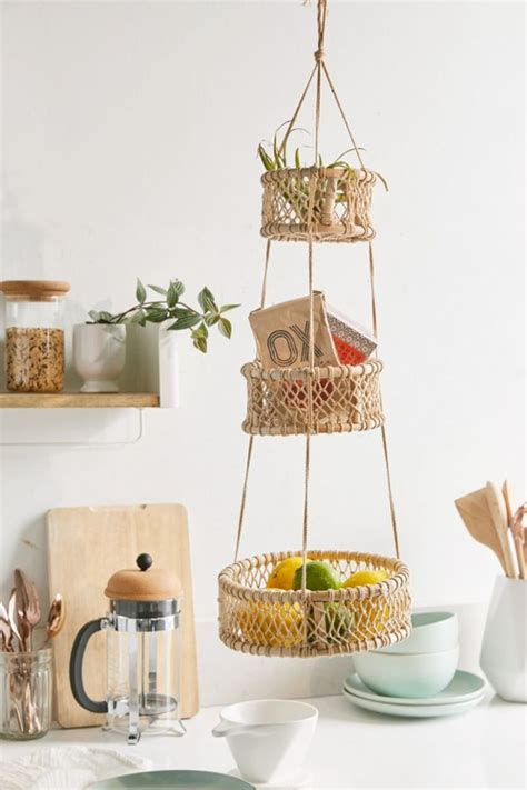 hanging fruit baskets kitchen decor kitchn