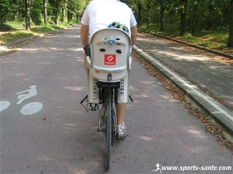 montage siege bebe velo siège vélo bébé hamax smiley compatible vtt sans porte