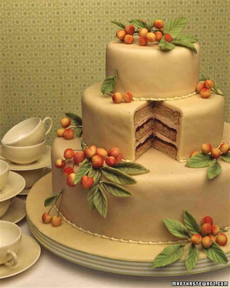 Wedding Cake Recipes Martha Stewart Weddings