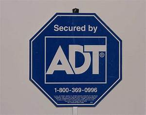 Home security sign 28 images adt security window for Kitchen cabinets lowes with adt signs and stickers