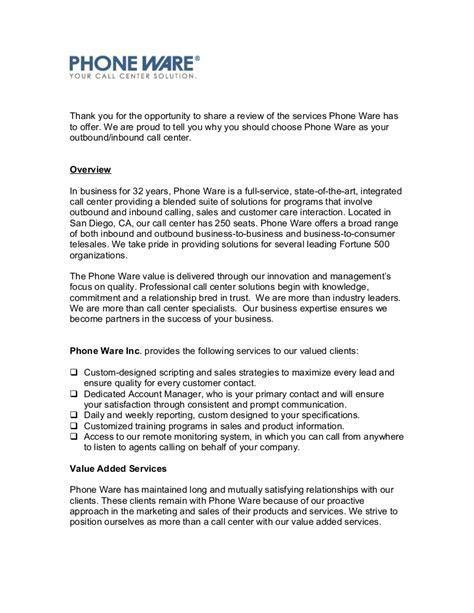 prospective client letter