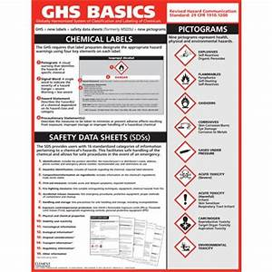 ghs basics training poster flammable storage chemical With ghs information