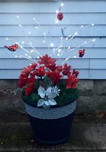 Outdoor, Patio, Christmas, Decor, And, Perfect, Throughout, The, Winter, Months, Artificial, Plants, And
