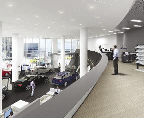 audi dealership interior rspline creates 3d renderings of the 265 000 s f