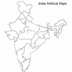 Blank Map Of India Pdf Maps Political Map India Outline