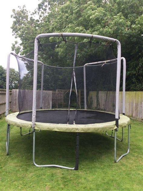 trampoline  sale domyos mt  decathlon  safety net total diameter  cm