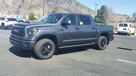 toyota tundra magnetic gray trd pro wd review youtube
