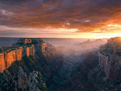 Arizona Sunset Landscape Canyon Grand Royal Wallpapers