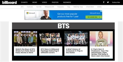 Legends Only! Bts Now Have Their Own Category On Billboard