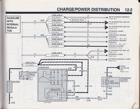 90 Ford F150 Wiring Diagram by Help Alternator Is Only Putting Out 12 Volts Ford Truck