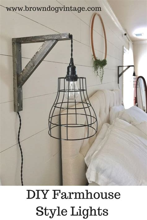 hanging wall lights for bedroom 36 best farmhouse lighting ideas and designs for 2018 18851