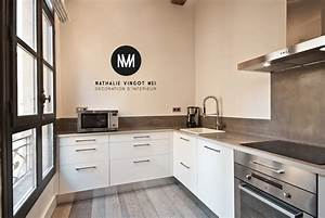 creation ou relooking de cuisines equipees sur mesure With aménagement cuisines équipées