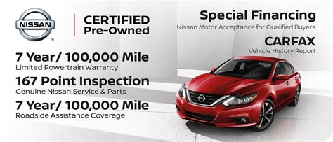 nissan certified pre owned benefits  criswell nissan