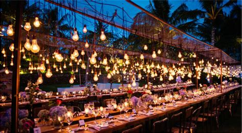 wedding lighting trends  girl weddings
