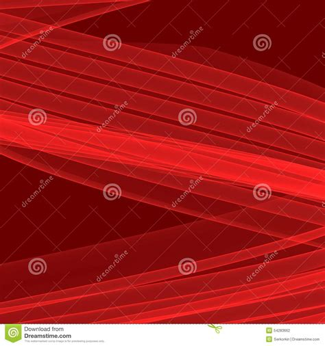 Abstract Red Background Bright Red Lines Geometric